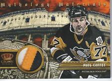 2013-14 Panini Crown Royale hockey PAUL COFFEY #MY-PC Patch 04/10 #/10 3 Colors
