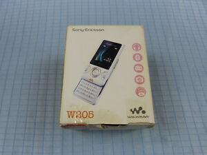 Sony-Ericsson-Walkman-W205-Creamy-White-Neu-amp-OVP-Ohne-Simlock-RAR