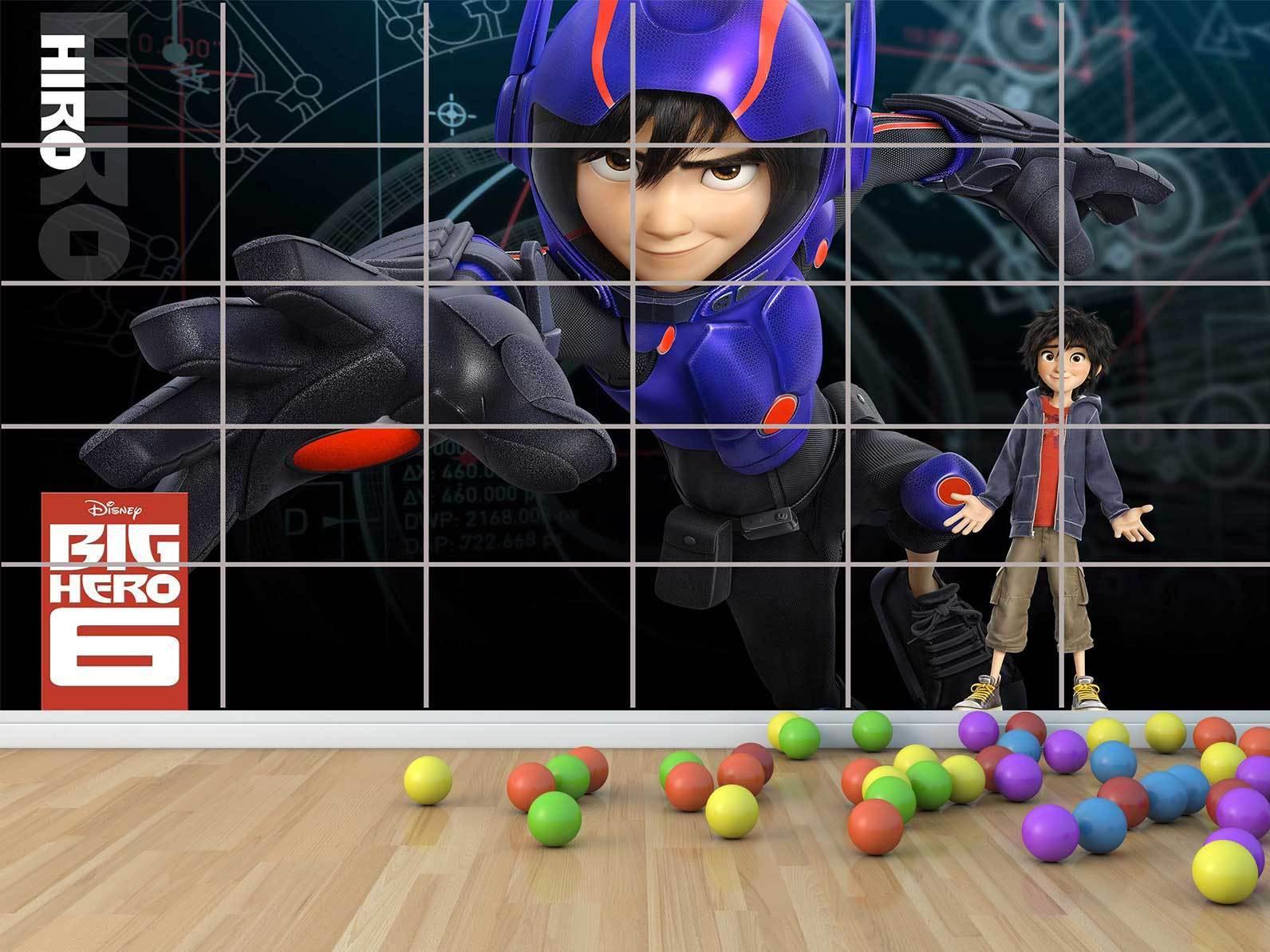 New Big Hero Film - - - Baymax - Kinder - Wall Plakat Raum Zimmer Kinder Raum Kinder b00894