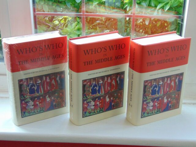 Who's Who in the Middle Ages 2 volumes by EMMERSON, Richard K.(Editor) Hb's 2006