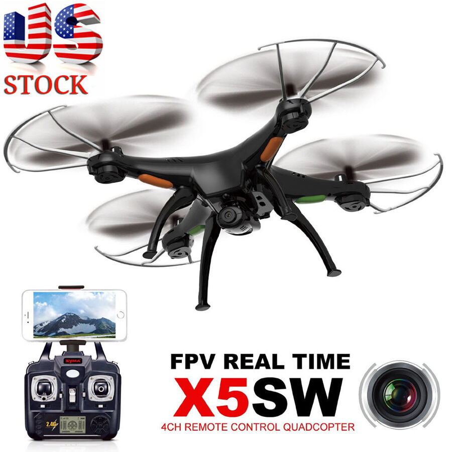 Syma X5SW Explorers-II FPV 2.4Ghz RC Quadcopter 2MP Wifi Camera + 2 Battery US