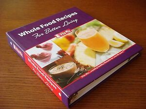Vita mix whole food recipes for better living with manual binder image is loading vita mix whole food recipes for better living forumfinder Choice Image