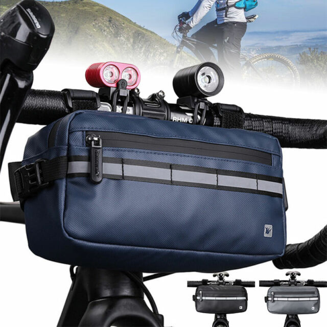 Rack Pouch Basket Bicycle Handlebar Bag Cycling Bags Front Tube Pannier Bike