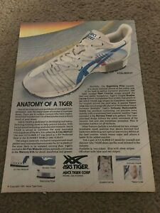 Vintage 1981 ASICS TIGER X-CALIBER