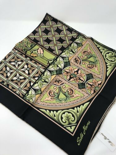 "Nwt Luxury Twill Silk Square  Scarf 35x35/"" Hijab,Tichel,Turkish Style"