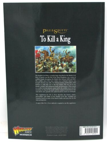 Book English Civil War Supplement Pike /& Shotte 201013001 To Kill a King
