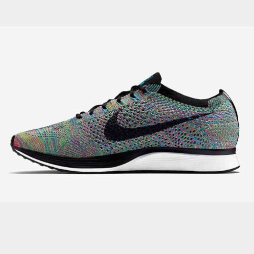 0 Box 5 with Us Flyknit Rainbow 2 New Nike 7 Racer Multicolor tF1qP4w
