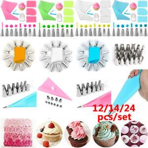 12-14-24Pcs-DIY-Cake-Decorating-Tools-Kit-Baking-Flower-Icing-Piping-Nozzles