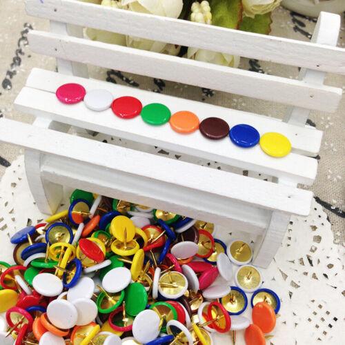 Reißzwecken Reißnägel Heftzwecken Andere Farbe 70 Stück für zb Pinnwand