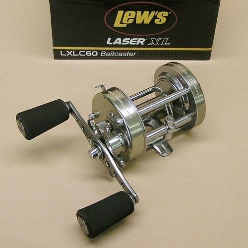 Lew's Laser XL Round Baitcaster Reel 4.2 1 Right Hand Lews Model LXLC60