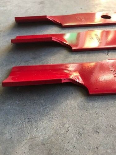 """3 Pack HD Hi Lift Blades for 48/"""" Exmark 103-6401 103-6401-S 16-1//4/"""" USA MADE"""
