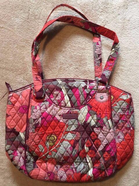 1c262864cbcd Vera Bradley Glenna Shoulder Bag Bohemian Blooms Pink Multi for sale ...