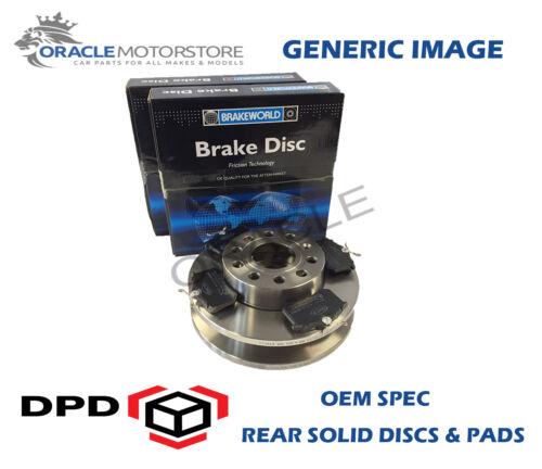 ELEC H//B OEM SPEC REAR DISCS PADS 302mm FOR VOLVO S80 2.4 TD 183 BHP 2006-09