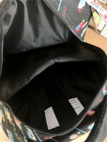 Boy/'s SMIGGLE Lilac Fave Color Backpack School Bag Rucksack NEW RARE book Black