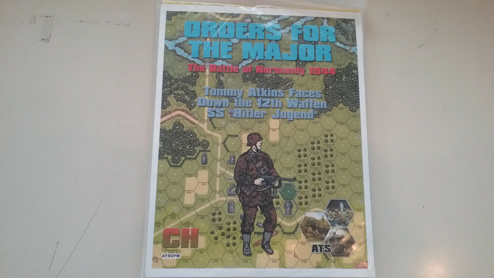 Critical Hit - Orders for the Major -TOB games The Battle of Epsom 1944