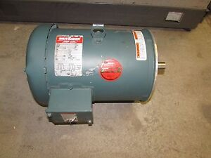 Details about Leeson Watt Saver Electric Motor 5hp 208-230/460 volt on