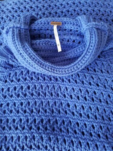 Xs Tunica Nwt Free Crochet Sweater Blu People Northern Lights Sleeveless 98 xZ8wTHZq