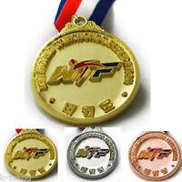Korea Taekwondo Wtf Medal Gold,silver,bronze Competition Tae Kwon Do Kukkiwon