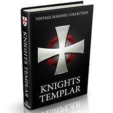 102 Rare Knights Templar Books on DVD Freemasons Crusades Masons Military Orders