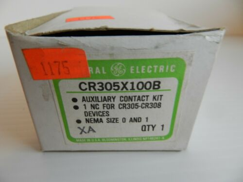 GE Aux Contact CR305X100B Normally Closed N.C.