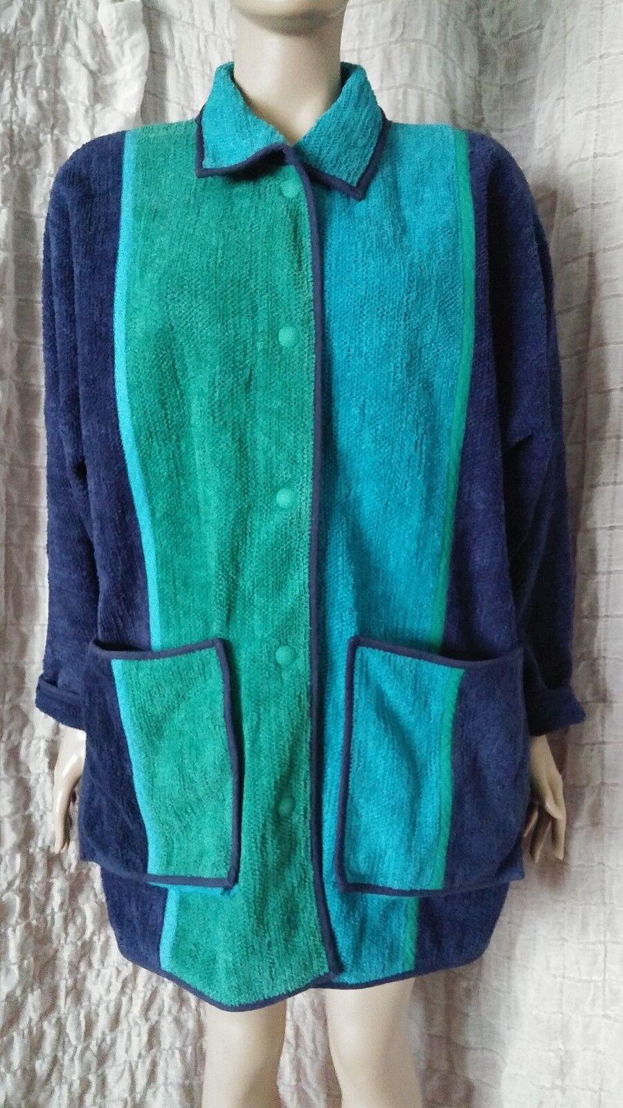 Annikki Karvinen handmade in Finland cotton coat size M lagenlook