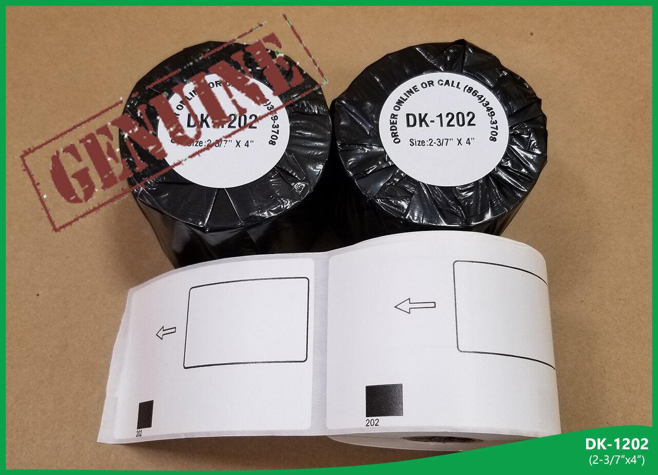 50 Rollos Blanco Envío Brother ™ 1202 compatible 1 1 1 Marco 300 Etiquetas/Rollo Gratis bd27ff