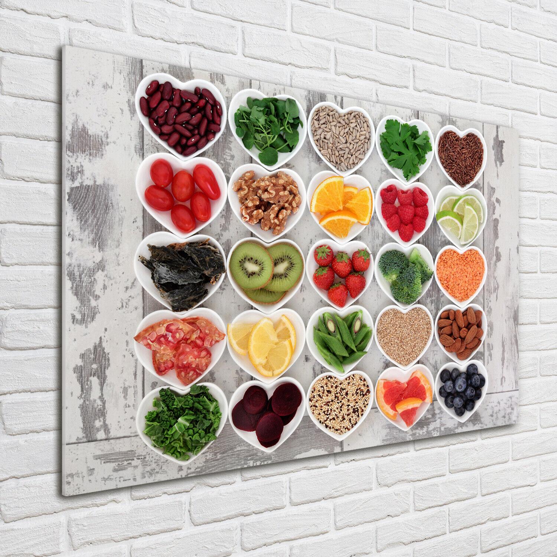 Acrylglas-Bild Wandbilder Druck 100x70 Deko Essen & Getränke Gesundes Essen