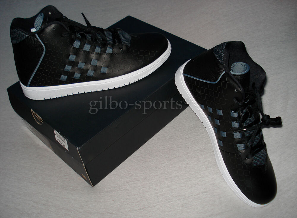 Nike Air Jordan Illusion Black/Black-Blue Gr. 44 .5  Neu 705141 002  retro 44,5