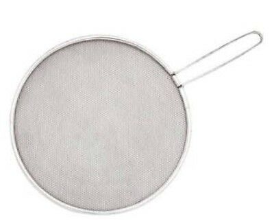NEW set 2 HEAT DIFFUSER simmer ring Stove Mat; With Handle 19cm dia; FREE POST