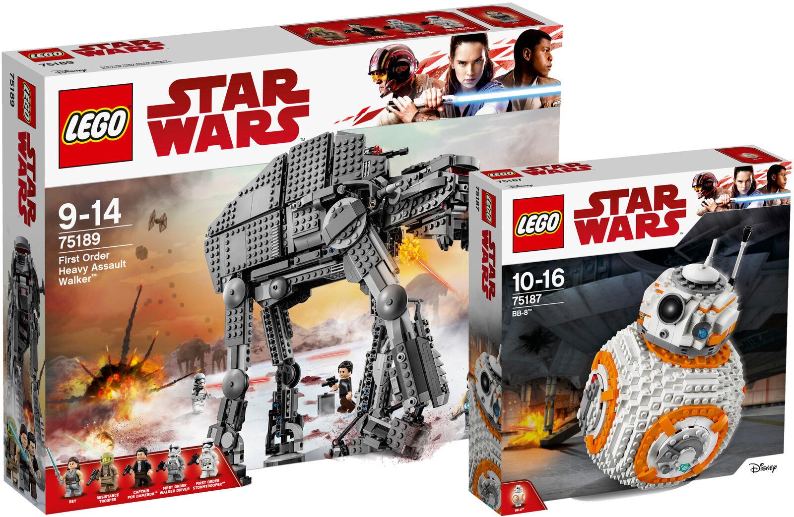 LEGO ® Star Wars First Order Heavy Assault Walker 75189 75187 BB-8™