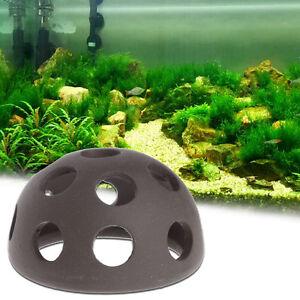 Aquarium Ceramic Rock Cave Shelter Hiding Spots Fish Tank Ornament Decoration 665301144909