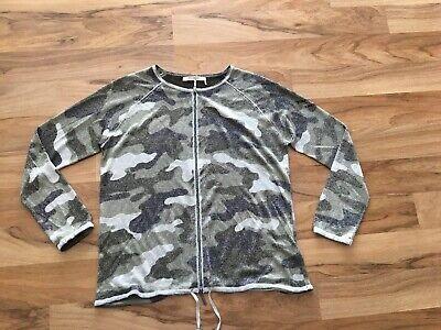 Monari, Leichte Strickjacke Camouflage Glitzer, Gr 42, Neu | eBay