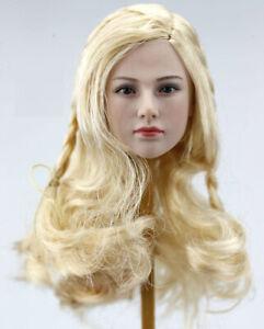 1//6 Sparta Valkyrie Beauty Female Head Carving Girl Head Sculpt 12/'/' Figure Hea