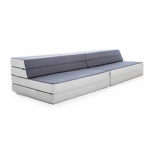 Image Is Loading NEW LUCID Convertible Folding Foam Sofa Bed King