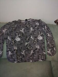 Princesses Disney Plus Sweater Sz Floral 16 14 1 Women's EPqZw5P