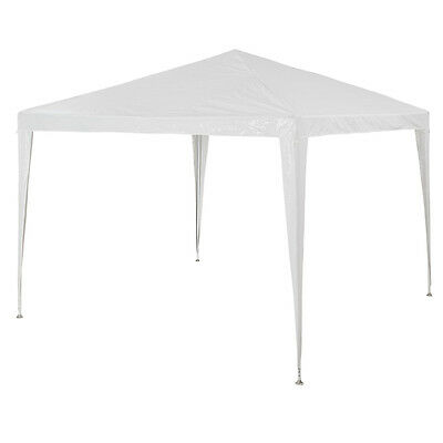 Gazebo for Garden Party Camping Festivals Beer Tent Marquee 3 x 3m white