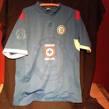 Cruz Azul Cemento Soccer Jersey ~ Men's L ~ Blue Liga MX Mexico