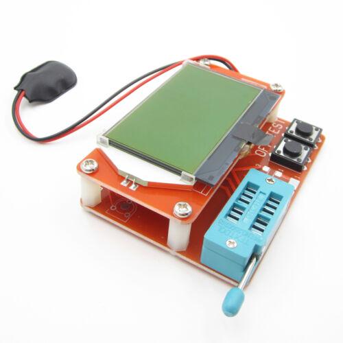 LCR-T5 Digital Transistor Tester ESR ATmega328 12864 LCD ESR Capacity Meter ASS