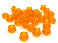 Br L Orange Lego 33291-10x Fleur // Plate NEUF Round 1x1 with Flower edge