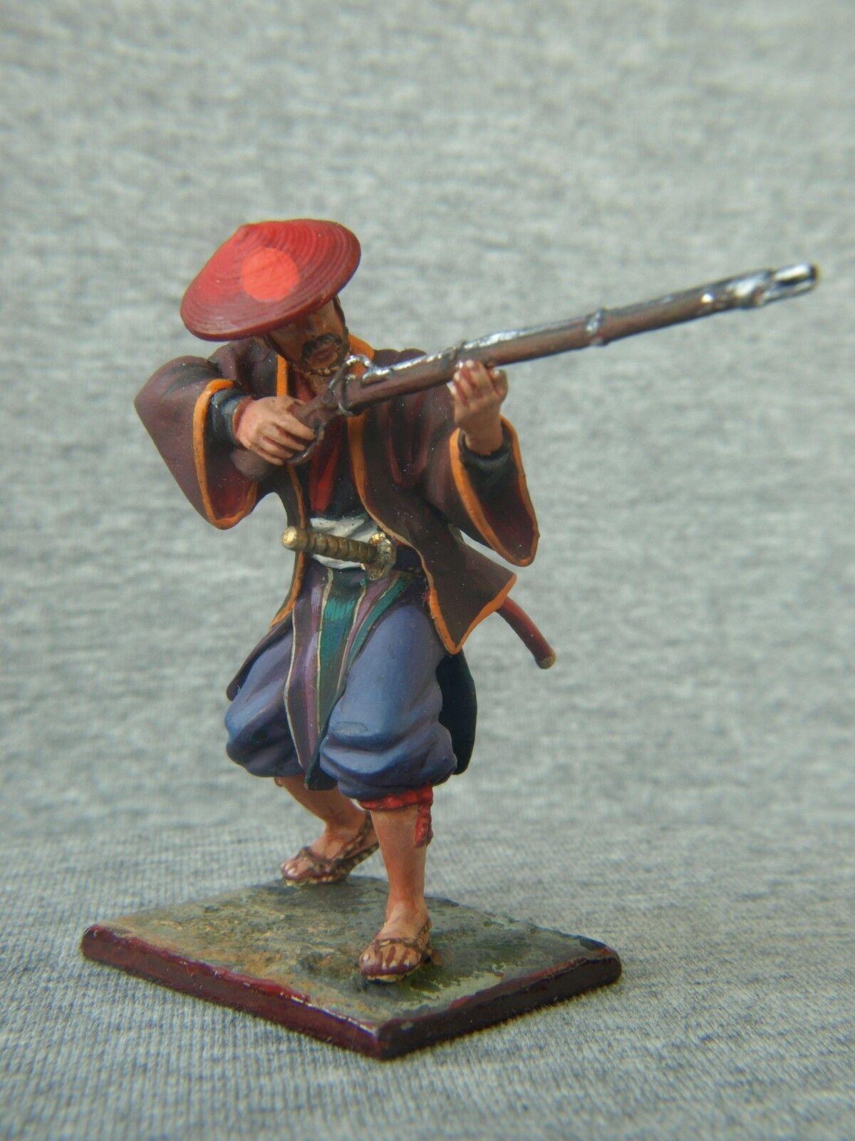 Samuraj med en pistol.Elite tenn soldater St. Petersburg 54 mm