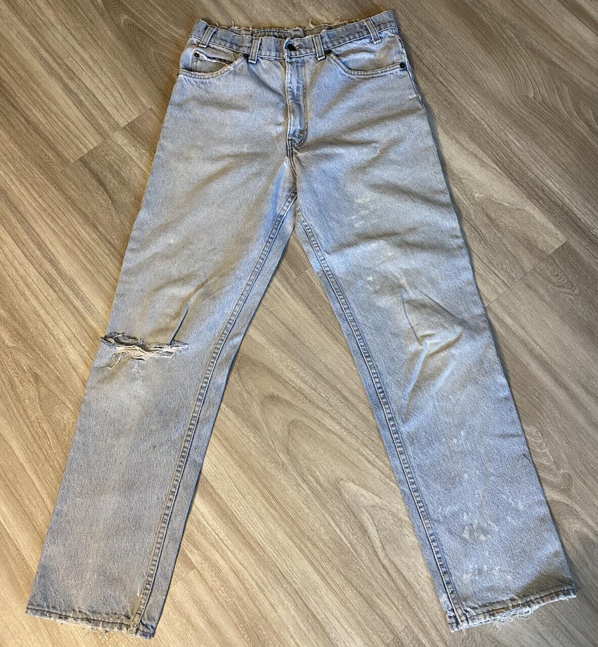 Vintage 90s Levis 540 32 X 32 Distressed Worn Jea… - image 1
