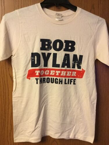 Bob Dylan - Cream Color Shirt.  S.
