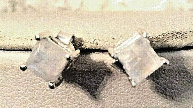 SONDERANGEBOT SUPER SCHÖNE Ohrstecker 925 silber mit echtem Mondstein 2