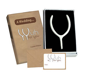 Image Is Loading Wedding Day Snapable Wishbone Gift Amp Card Special