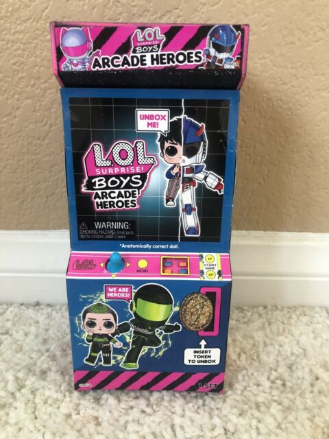 BHADDIE BROS CHAOS LOL Surprise ARCADE HEROS Boys Doll ...