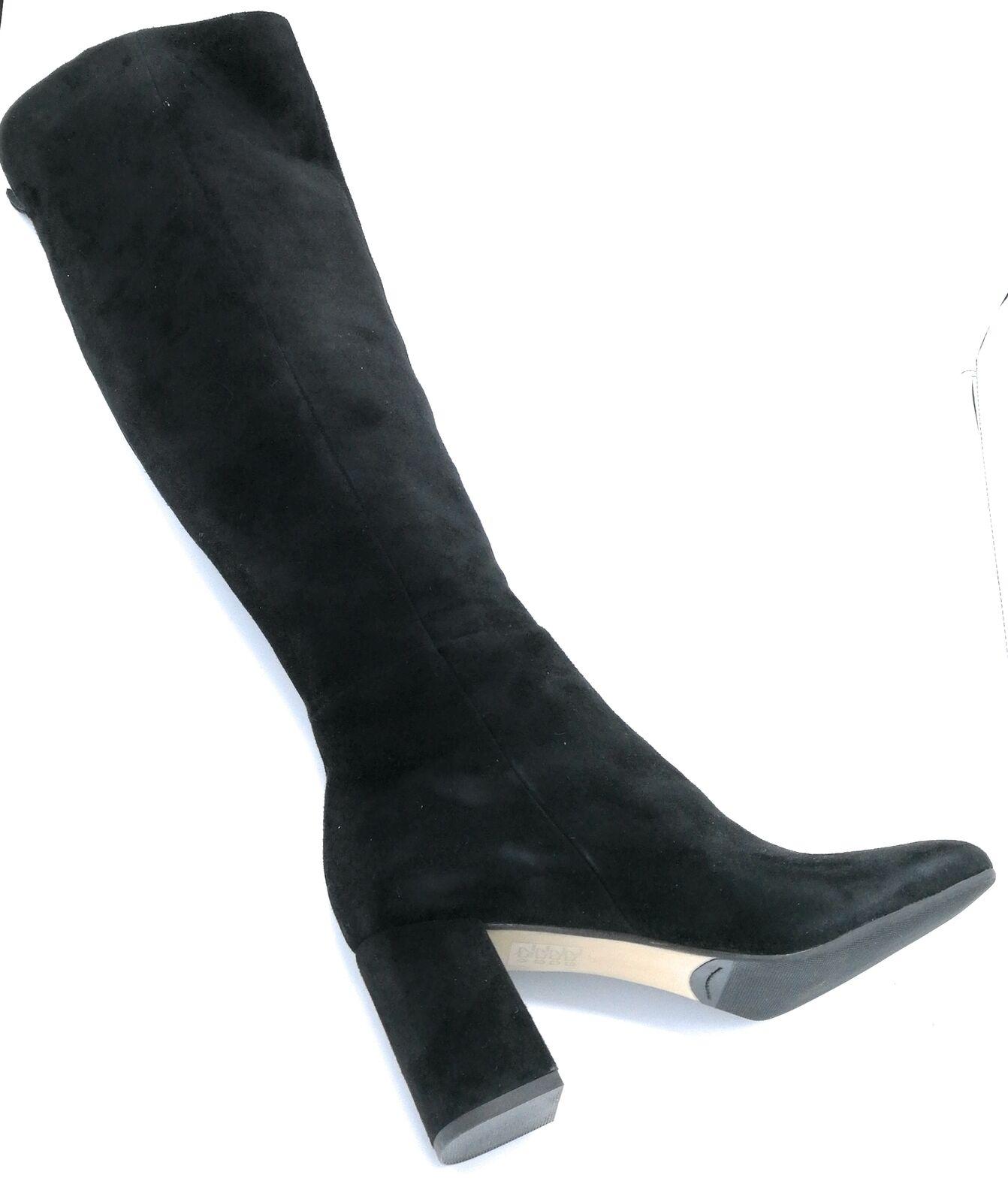BPrivate H1204 Stiefel Wildleder Wildleder Stiefel schwarz mit Reißverschluss b4059a