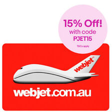 Webjet Gift Card $50, $100, $200, $500 - Email Delivery