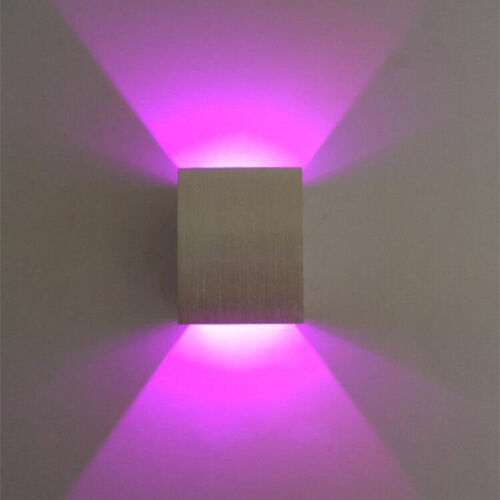 Dimmable//N 3W LED Wall Light Flush Mount Lamp Fixture Up//Down Decor Lighting Bar