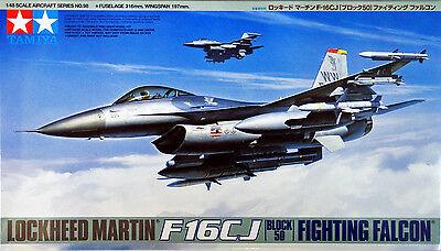 Tamiya 61098 Lockheed Martin F-16CJ Block 50 Fighting Falcon 1/48 scale kit