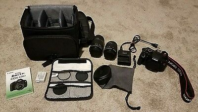 Canon EOS Rebel T3i / EOS 600D 18.0 MP Digital SLR Camera Package